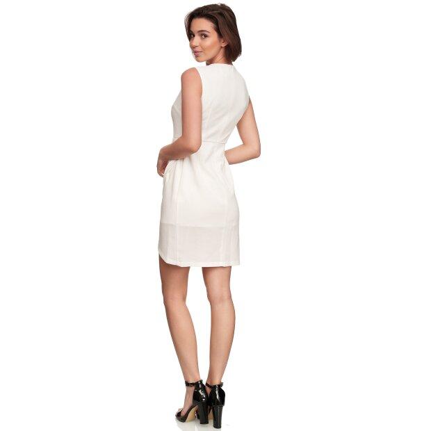 Comino Couture Kleid, Libelle aus Pailletten, weiß XXL (Gr ...